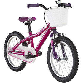 Ghost Powerkid AL 16 Børn, dark fuchsia pink/violet/star white